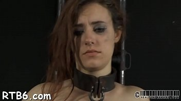 teamskeet gystyle cage in Susan bound deep throat
