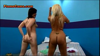 casting butterloads movie15 gay the behind scenes Blonde girl masturbates with her purple dildo at home