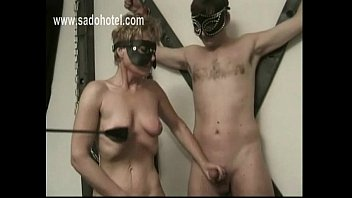 panties put on off jerk and Massive cock destroys young vagina