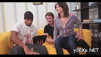gets a babe creamed after spitroasting on Irene delgado anal5