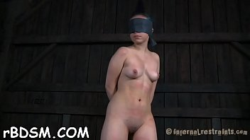 electro of torture chub merciless Sexy brunette girl loves to get covered
