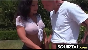 ejaculate creamy squirt Friend watching me get fucked