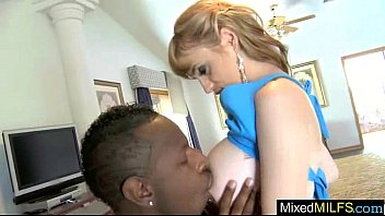blows two horny stud cocks black white big Hot babe gives blowjob
