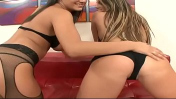 session hot brunette get active in fuck lesbian on vagina Tied and fuck hard