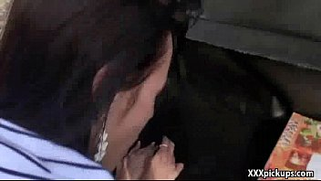 sucks outdoors twink asin Touch penis under table