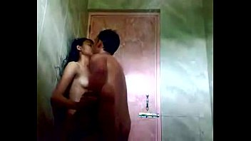 on spy teen shower french Monster cock and scuirting