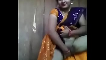 village andhra saree aunty Girl gets stamped in the vip room