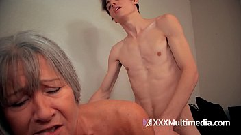 real hot mom son is fuck Sweetheart is bestowing blowjob on fellows rod