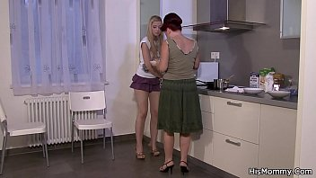 lesbian real mom Young madam who took shower invites the visitor 2 censored