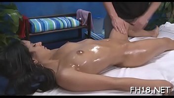 girl making asian Wet oiled up juicy as hell