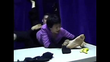 tickled male feet Matured fucked by shemale