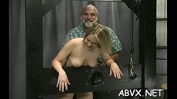 hazingdildo extreme riding Lex on blond 7
