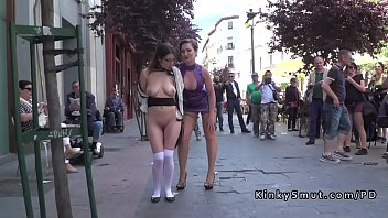 naked public bet Caught shaking dick