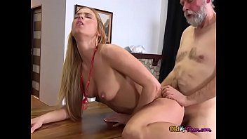 over blond sofa bent fucked the and hard April oneil natural