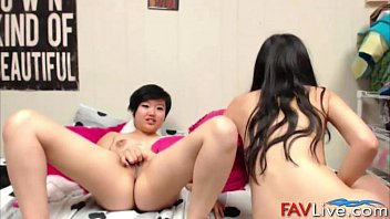 into sex lesbian tricked asian Mom ganbang by sons friends