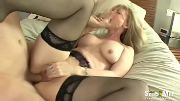 sons friend a milf keep secret blonde to fucking Big natural tits 30