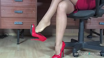 boots pantyhose seduction Indian auntys 18 years