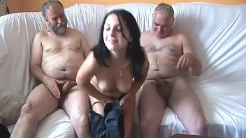 2 guy gir with have young old part sex Blackmail friends wife anal
