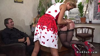 roxy deville slave Mom walks naked stepdaughter like a dog