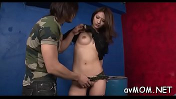 nou xue han Stepson cums on stepmothers tits