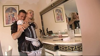 sexy stocking super gagging cock and Lovely and bootylicious dark playgirl endures sex