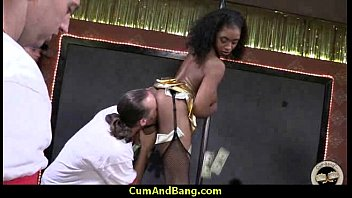 and wive bbc ebony Guy sells his gf for money