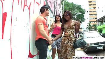 morph cock shemale Mmt interracial threesome
