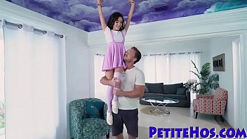 amateur ebony drilling pussy with clear4 Sex father daughter in the house